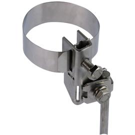 540100 DEHN Antennen-Bandrohrschelle D 27-165mm NIRO f. Rd 10mm o. 2x Rd 6-8mm Produktbild