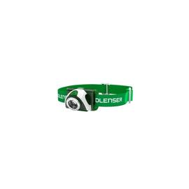 6103 LED-Lenser SEO3 LED-Stirnlampe grün 100-Lumen inkl.3xAAA/waschbares Kopfband Produktbild
