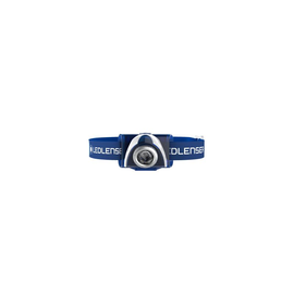 6107-R LED-Lenser SEO7R LED-Stirnlampe blau 220lm 1xAkku-Pack+1xLadegerät Produktbild