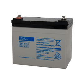 504186-01 Cellpower CPC33-12 Akku 12V 33AH 195x130x166 Insert M5 Produktbild