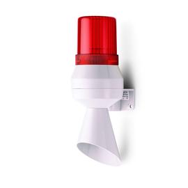 710122113 Auer KLF Kleinhupe-Blitz- leuchte rot, mit Trichter, 230/240V AC Produktbild