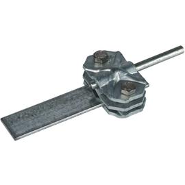 454000 DEHN Verbindungs-/Trennklemme St/tZn m. Zwischenplatte f. Rd 7-10/Fl 3 Produktbild