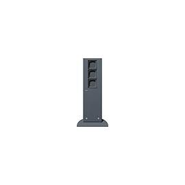 134528 GIRA 491mm 3xLeereinheit Energiesäule Anthrazit Produktbild