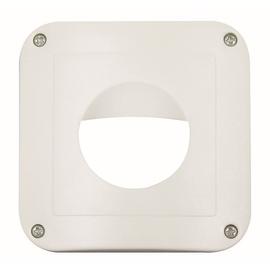 92139 B.E.G. BEG Abdeckung IP54 polarweiß (Rahmen m.Zentralstück 50x50mm Produktbild