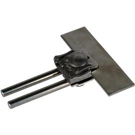 365019 DEHN Falzklemme NIRO Klemmbereich 0,7-8mm m. Doppelüberleger f. Rd 8-10mm Produktbild