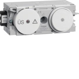 G003009010 HAGER Feinschutz/Schalter Wago C-Profil rw Produktbild
