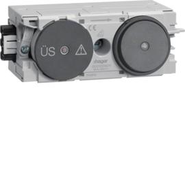 G003009011 HAGER Feinschutz/Schalter Wago C-Profil gs Produktbild