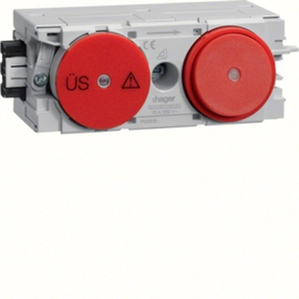 G003003020 HAGER Feinschutz/Schalter Wago C-Profil rot Produktbild