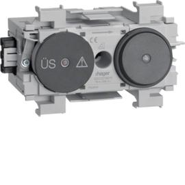 G003019011 HAGER Feinschutz/Schalter Wago Frontrastend gs Produktbild