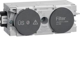 G004009011 HAGER Feinschutz/Störfilter Wago C-Profil gs Produktbild
