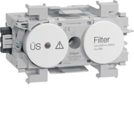 G004019010 HAGER Feinschutz/Störfilter Wago frontrastend rw Produktbild