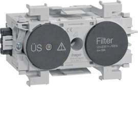 G004019011 HAGER Feinschutz/Störfilter Wago frontrastend gs Produktbild