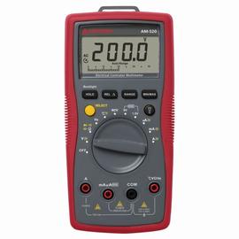 4131281 BEHA AMPROBE AM-520 DIGITAL MULTIME.CATIII/600V m.Tasche/Temp.fühler Produktbild