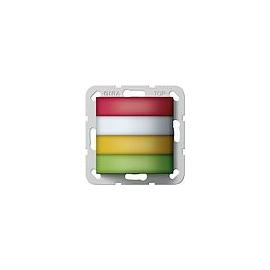 594400 GIRA Zimmersignalleuchte Rot,Weiß,Gelb,Grün Rufsystem 834 Plus Produktbild