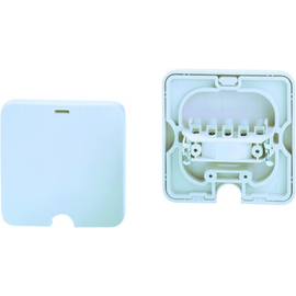 190.271 Bachmann Geräteanschlußdose UP 16A/380V weiß  (0,75-2,50mm) Produktbild
