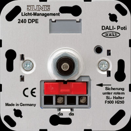 240DPE Jung DALI-Potentiometer Produktbild