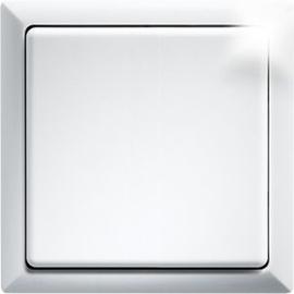 30000705 Eltako FT4F-wg Funktaster reinweiß glänzend m.Wippe u.Doppelwippe Produktbild