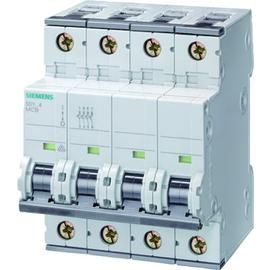 5SY46166 Siemens LEITUNGSSCHUTZSCHALTER 400V 10KA 3+N-POLIG B 16A T=70MM Produktbild