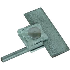 365030 DEHN Falzklemme St/tZn Klemmbe- reich 0,7-8mm m. Klemmbock f. Rd 6-10mm Produktbild