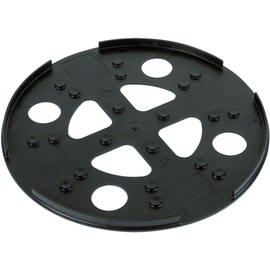 102060 DEHN Unterlegplatte Kunststoff D 280mm schw. Produktbild
