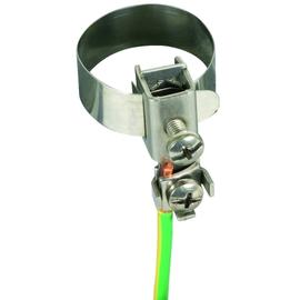 540920 DEHN Erdungsbandrohrschelle D 10-27mm + Anschlussklemme 2x2,5-10mm² Produktbild