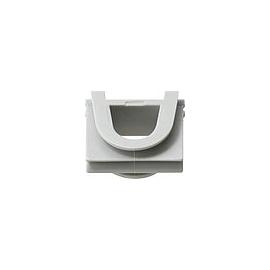 001330 GIRA Verbindungsstück WG Aufputz Grau Produktbild