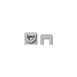 000830 GIRA Kanaleinführung für Kanal 15x15 Aufputz Grau Produktbild