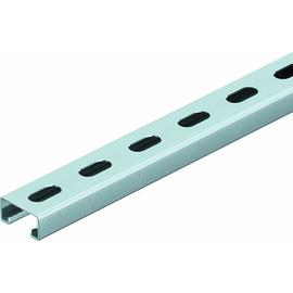 1123672 OBO A8G2 1,5 Ankerschiene gelocht, 10,5x30mm 2000x41x21 Stahl band Produktbild