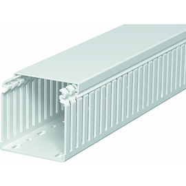 6178559 OBO LKVH N 75075 Verdrahtungs- kanal halogenfrei 75x75x2000 Polycarbona Produktbild