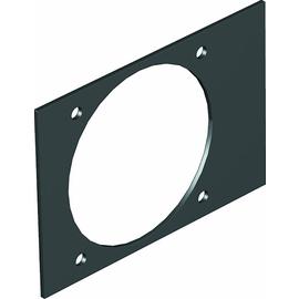 7408260 OBO T4B P5S 9011 Abdeckplatte CEE für T4B 110x77mm Polyvinylchlorid gr Produktbild