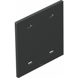 7408440 OBO T8NL P01 7035 Abdeckplatte ohne Lochbild für T4L/T8NL Polyamid lich Produktbild