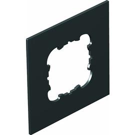 7408444 OBO T8NL P1 9011 Abdeckplatte 1xEKR für T4L/T8NL Schmalseite Polyamid Produktbild