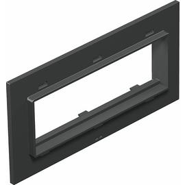 7408456 OBO T8NL P105 7035 Abdeckplatte 3f Modul 45 für T4L/T8NL Polyamid lichtg Produktbild