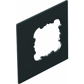 7408458 OBO T8NL P2 9011 Abdeckplatte 1xEKR für T4L/T8NL Polyamid graphitschwa Produktbild