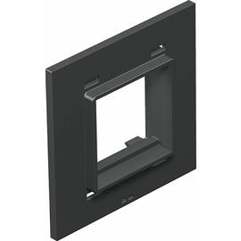 7408478 OBO T8NL P45 7035 Abdeckplatte 1f Modul 45 für T4L/T8NL Polyamid lichtg Produktbild