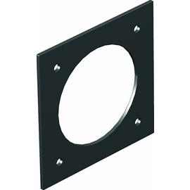 7408482 OBO T8NL PCEE 9011 Abdeckplatte CEE für T4L/T8NL Polyamid graphitschwarz Produktbild