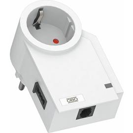 5092824 OBO FC-TAE-D FineController inklusive Telefonschutz 230V  reinweiß Produktbild