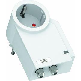 5092816 OBO FC-SAT-D FineController inklusive SAT-Schutz 230V  reinweiß Produktbild