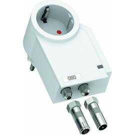 5092808 OBO FC-TV-D FineController inklusive TV-Schutz 230V  reinweiß Produktbild