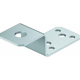 5320704 OBO 287 Anschlusslasche Aluminium Produktbild