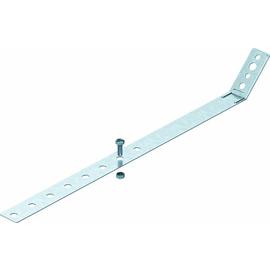 5350867 OBO 301 V Regenrohrschelle verstellbar 420mm Stahl bandverzinkt Produktbild