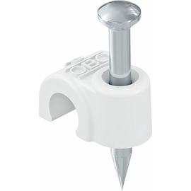 2225514 OBO 2007 25 RW ISO-Nagel-Clip 7mm, L25 Polypropylen reinweiß Produktbild