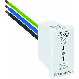 6117473 OBO ÜSS 45-O-RW Überspannungsschutz Modul 45 mit optisch Produktbild