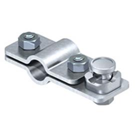 5001218 OBO 2710 20 Anschlussschelle für OMEX-Erder 20mm Stahl tauchfeuerverz Produktbild