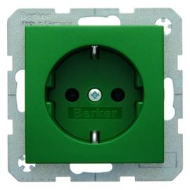 41431913 Berker S.1/B.x SSD mit Schraubklemmen grün matt Produktbild