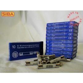 7006565.6,3 SIBA G-Sich. träge 6,3A 500V 6,3x32mm Keramikrohr (189140.6,3) Produktbild