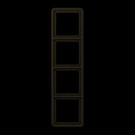 CD584BR Jung Rahmen 4fach Produktbild