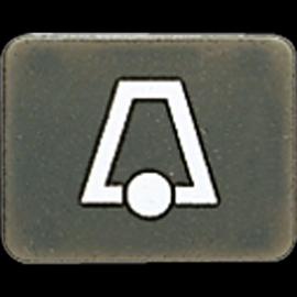 33ANK Jung Taster-Symbol Klingel Produktbild