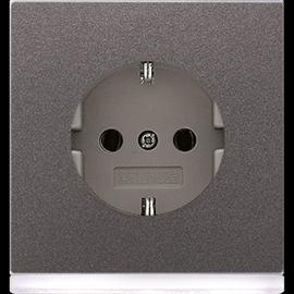 AL2520-OANLEDW Jung SCHUKO-Steckd. m. LED-Orientierungslicht Produktbild