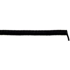 73220219 UNITRONIC SPIRAL 5X0,14/500 PUR Spiralk.gesch.dehnbar 2000mm schwarz Produktbild